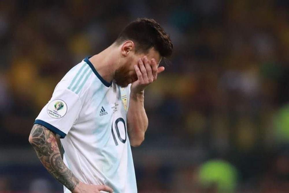 Gục ngã dưới chân Brazil, Argentina cúi đầu rời Copa America - Ảnh 2.