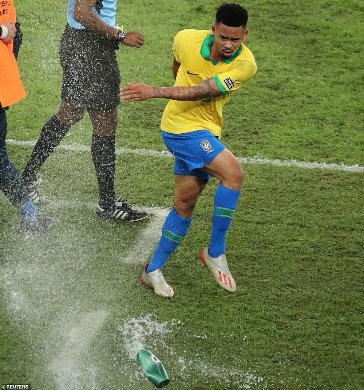 Thắng thuyết phục Peru, Brazil đăng quang ngôi vô địch Copa America sau 12 năm chờ đợi - Ảnh 4.
