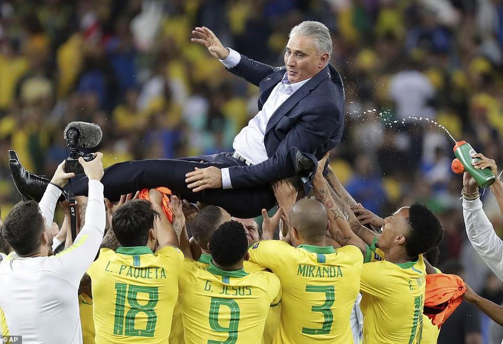 Thắng thuyết phục Peru, Brazil đăng quang ngôi vô địch Copa America sau 12 năm chờ đợi - Ảnh 6.