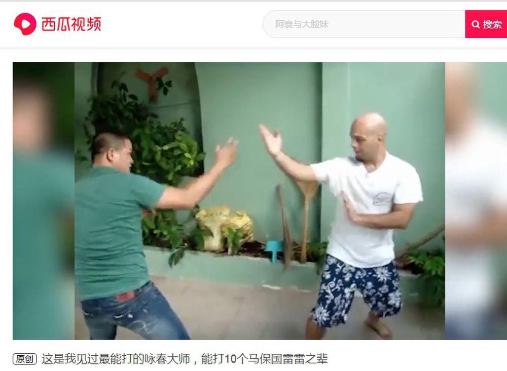 """Truyền thông Trung Quốc: """"Võ công của Flores có thể đánh bại cả 10 người như Ngụy Lôi"""" - Ảnh 1."""