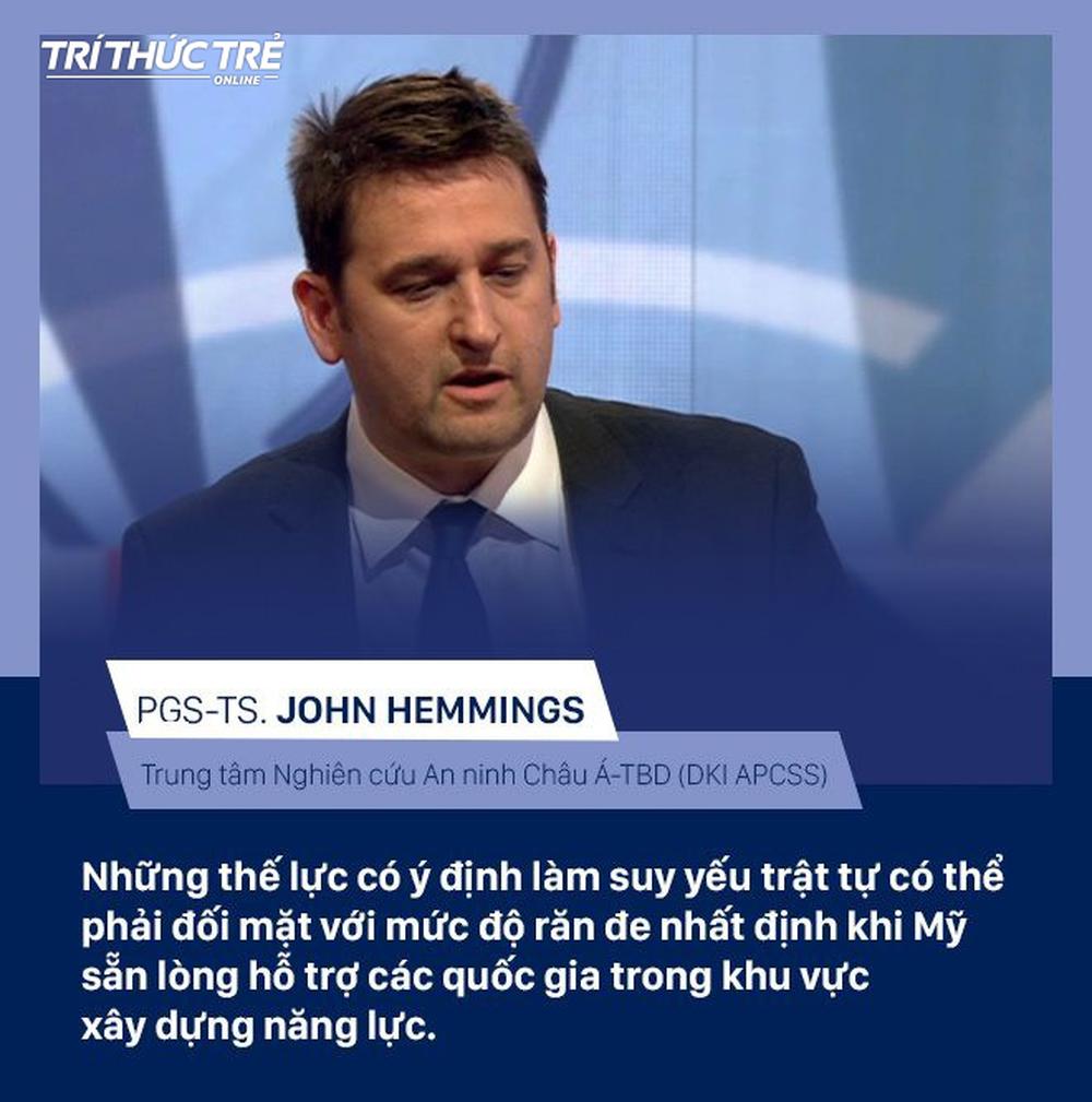 Chuyên gia quốc tế: Mỹ đã công nhận khả năng lãnh đạo và sự chuyên nghiệp của Việt Nam trong diễn tập hải quân - Ảnh 2.