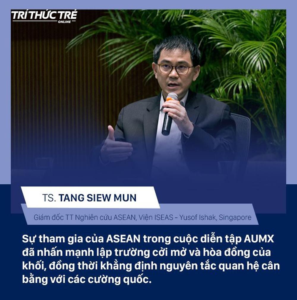 Chuyên gia quốc tế: Mỹ đã công nhận khả năng lãnh đạo và sự chuyên nghiệp của Việt Nam trong diễn tập hải quân - Ảnh 1.