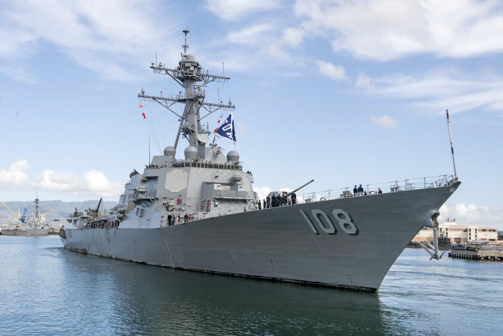 Chiến hạm Mỹ mang tên lửa Tomahawk diễn tập cùng ASEAN trên biển Đông - Ảnh 15.