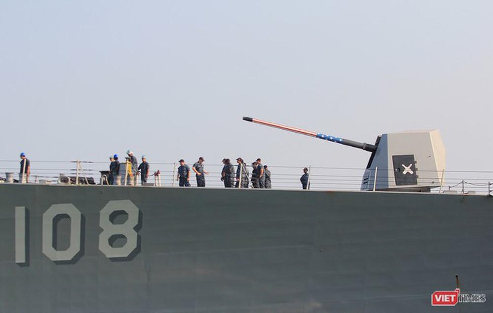 Chiến hạm Mỹ mang tên lửa Tomahawk diễn tập cùng ASEAN trên biển Đông - Ảnh 4.