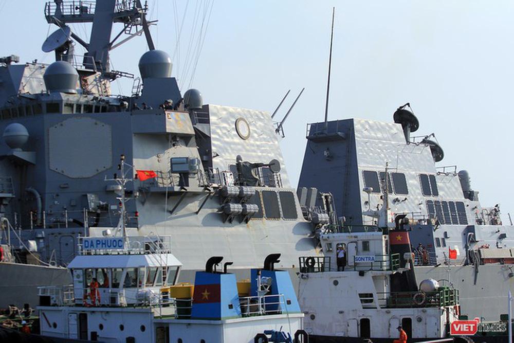 Chiến hạm Mỹ mang tên lửa Tomahawk diễn tập cùng ASEAN trên biển Đông - Ảnh 7.