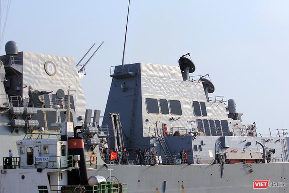 Chiến hạm Mỹ mang tên lửa Tomahawk diễn tập cùng ASEAN trên biển Đông - Ảnh 8.