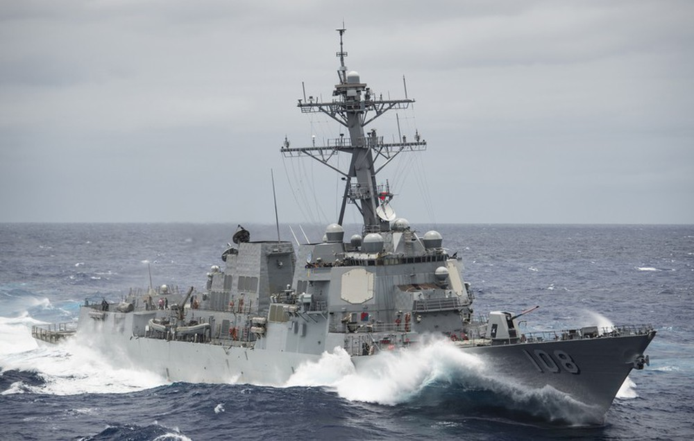 Chiến hạm Mỹ mang tên lửa Tomahawk diễn tập cùng ASEAN trên biển Đông - Ảnh 10.