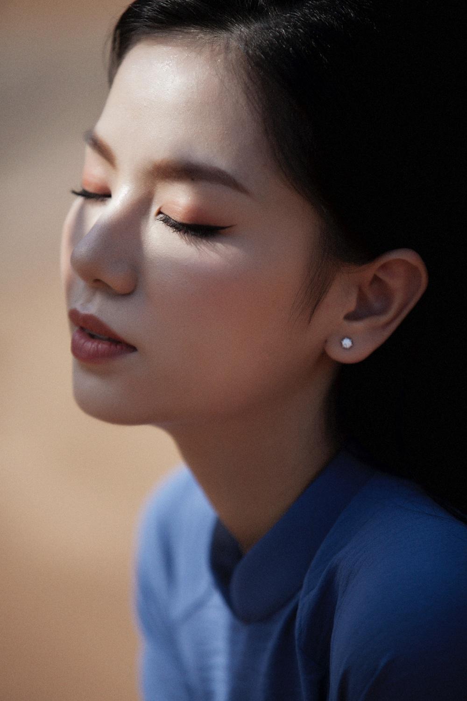 Hot girl Cả một đời ân oán Hạ Anh xinh đẹp trong tà áo dài, tiết lộ dự án với tài tử TVB - Ảnh 6.