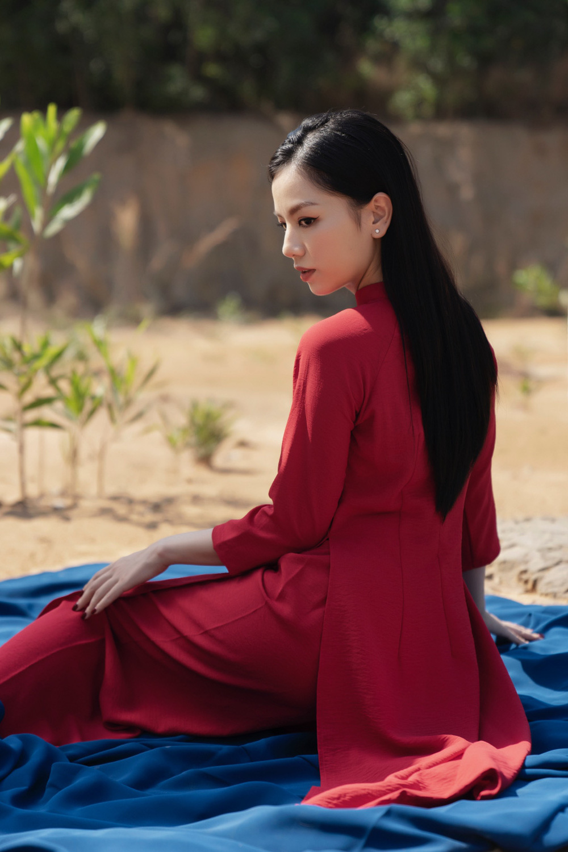 Hot girl Cả một đời ân oán Hạ Anh xinh đẹp trong tà áo dài, tiết lộ dự án với tài tử TVB - Ảnh 3.