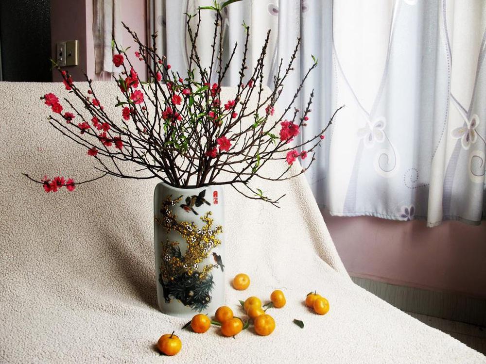 Mách bạn các cách giữ hoa đào tươi lâu và nở đúng ngày - Ảnh 4.