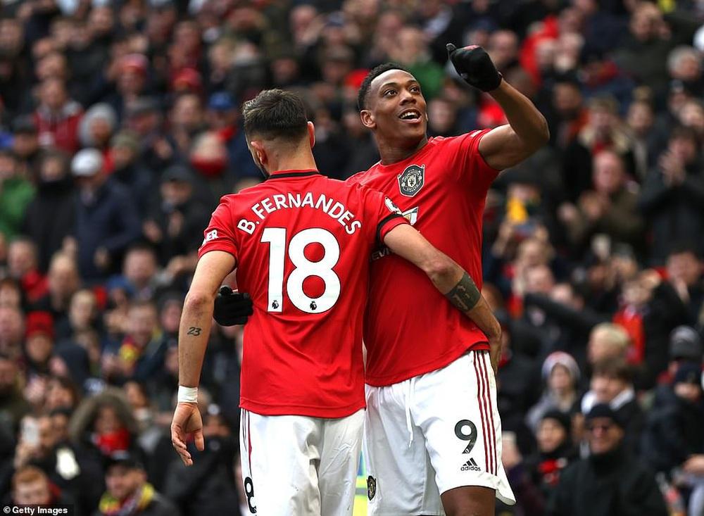 Bruno Fernandes 3 lần lập chiến công, Man United thẳng tiến vào top 5 sau trận đại thắng - Ảnh 2.