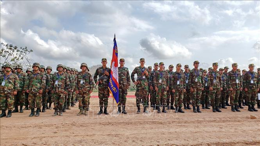 Campuchia - Trung Quốc diễn tập chung Rồng vàng 2020 bất chấp dịch COVID-19 - Ảnh 3.