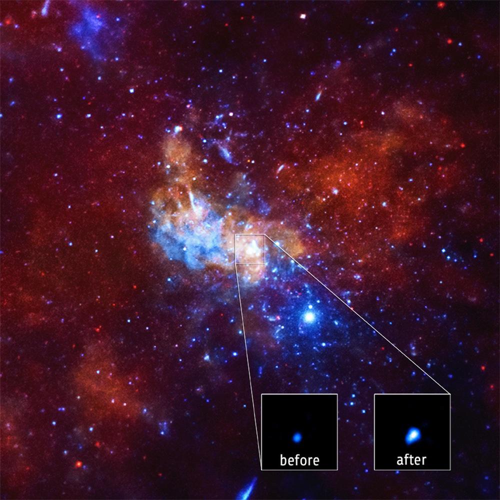 Siêu hố đen ngay Dải Ngân Hà xuất hiện dấu hiệu bất thường: Gây nguy hiểm tới Trái Đất? - Ảnh 2.