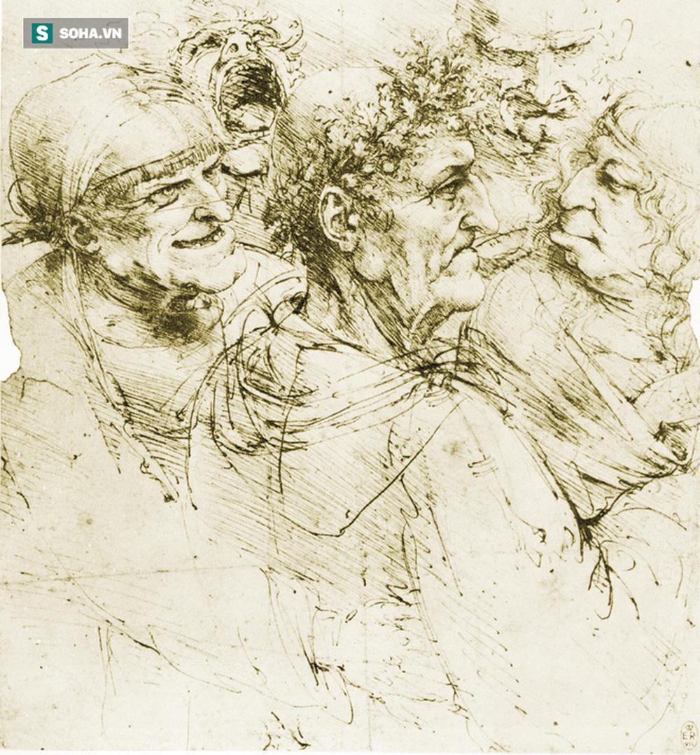 Giải mã bí ẩn trong những bức họa xấu xí trong sổ tay của Leonardo da Vinci - Ảnh 1.