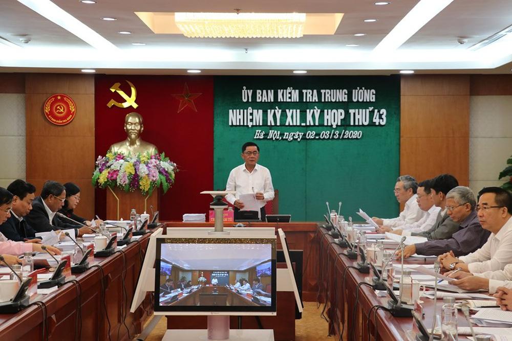 UBKT Trung ương đề nghị Bộ Chính trị kỷ luật nguyên Bí thư Thành ủy TPHCM Lê Thanh Hải - Ảnh 1.
