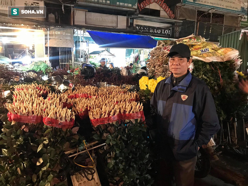 Doanh thu giảm 80%, tiểu thương chợ hoa Quảng An chỉ dám nhập cầm chừng - Ảnh 3.
