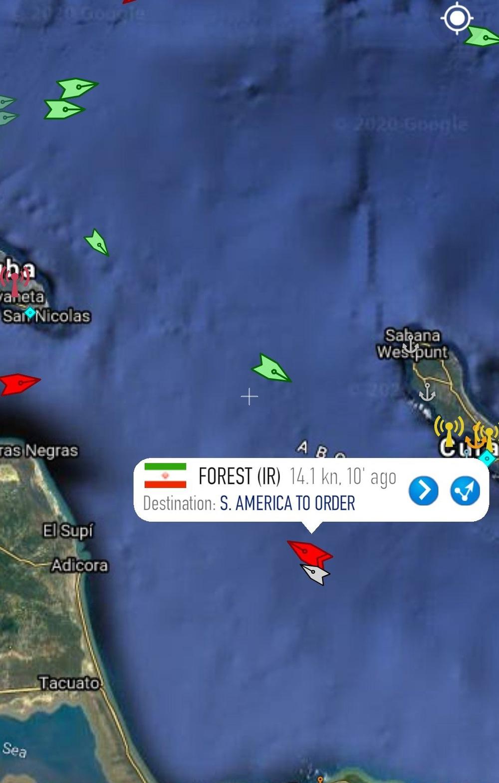 NÓNG: Liên tiếp đột phá, tỷ số sắp là 3-0, Venezuela-Iran dẫn trước - Cái gọi là vòng vây của Hải quân Mỹ rách toang? - Ảnh 5.