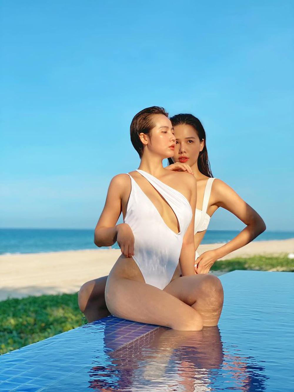 Phanh Lee và Huyền Lizzie kỷ niệm 7 năm tình bạn bằng bộ ảnh cực nóng bỏng - Ảnh 4.