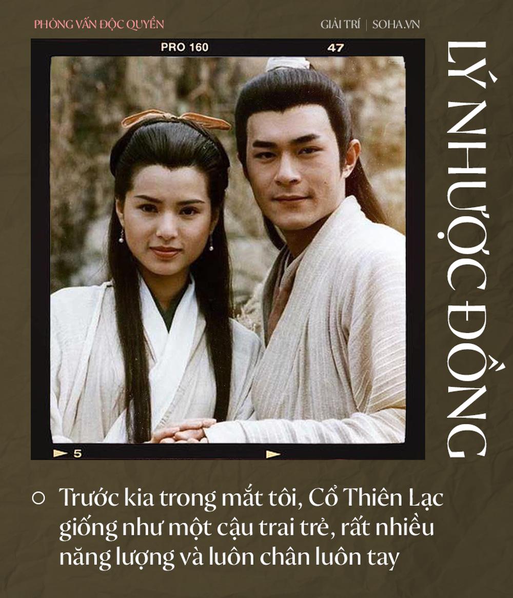 Lý Nhược Đồng nói về tình cảm dành cho Dương Quá, Cổ Thiên Lạc và người đặc biệt Châu Tinh Trì - Ảnh 3.