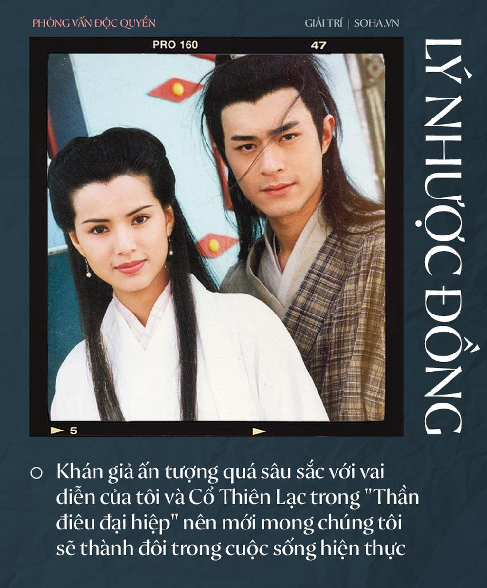 Lý Nhược Đồng nói về tình cảm dành cho Dương Quá, Cổ Thiên Lạc và người đặc biệt Châu Tinh Trì - Ảnh 7.