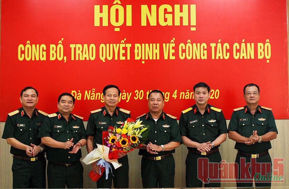 Bổ nhiệm Đại tá Hứa Văn Tưởng làm Phó Tư lệnh Quân khu 5 - Ảnh 1.