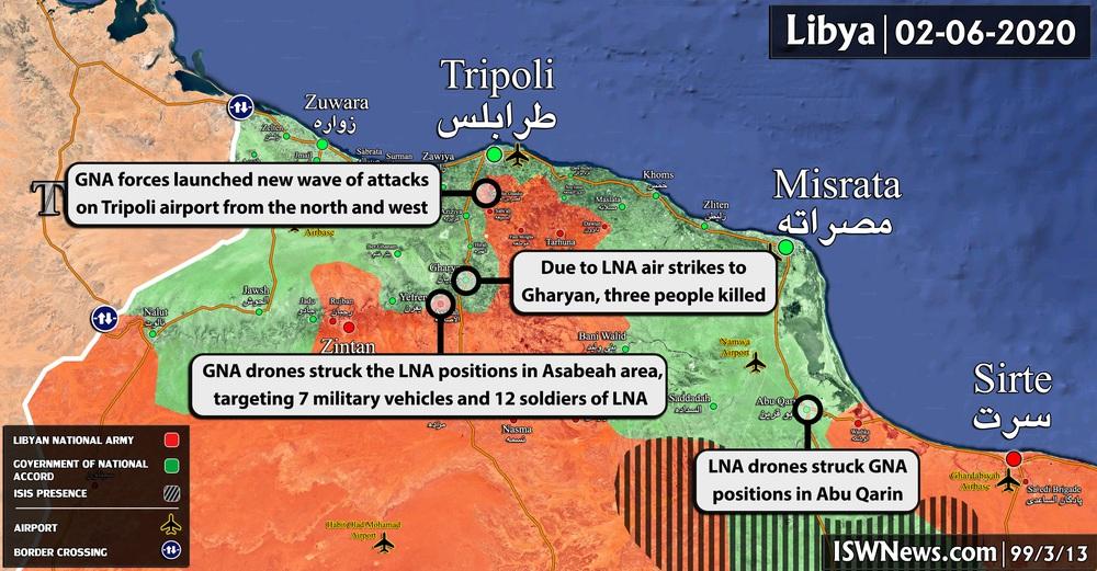 Chảo lửa Libya: Dấu vân tay của Iran và quyết định đứng về phía Thổ đối đầu Nga - Syria? - Ảnh 1.