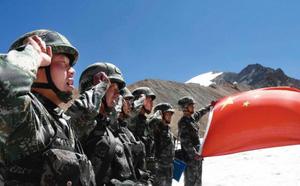 Lần đầu tiên có ảnh quân đoàn Lửa và Cuồng nộ của Ấn Độ kể từ khi đụng độ với TQ - ảnh 3