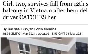 Bé gái rơi từ tầng 12 chung cư: Xem xét khen thưởng người phụ nữ phát hiện sự việc - ảnh 1