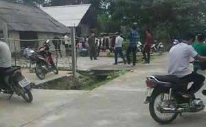 Vụ cha treo cổ chết cùng 2 con ở Tuyên Quang: Người vợ nhập viện sau khi về nhà chịu tang - ảnh 3
