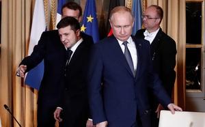 Quan chức Ukraine tố trợ lý cấp cao của TT Putin nổi khùng giữa lúc thảo luận về Donbass - ảnh 1