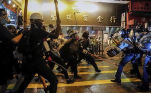 Liên hợp quốc lo ngại tình hình bạo lực ở Hong Kong - ảnh 2