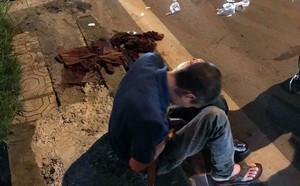 Công an Sơn La kể phút tiếp cận 3 nghi can người Trung Quốc trong vụ giết hại lái xe taxi - ảnh 1