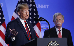 Ông Bolton và những tháng ngày đối đầu kịch liệt với Tổng thống Trump trước khi từ chức - ảnh 1