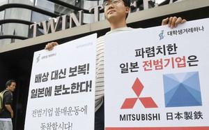 """Nhật-Hàn """"lục đục"""" chiến tranh thương mại, Trung Quốc """"đắc lợi"""" - ảnh 1"""