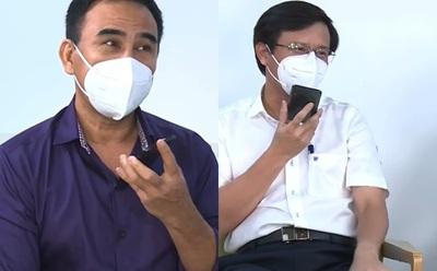 Một người dân nhắn tin, Quyền Linh đưa máy trực tiếp nói chuyện với Chủ tịch quận