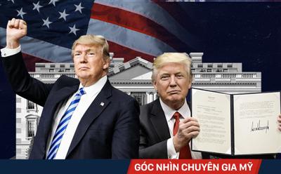 """1 năm nắm quyền của ông Trump: Kho thành tựu """"đồ sộ"""" và những sai lầm đáng tiếc nhất"""