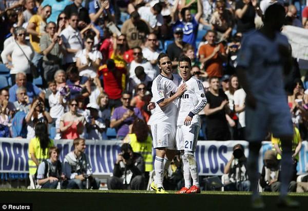 Real giành chiến thắng 4-2 trong trận chia tay Jose Mourinho