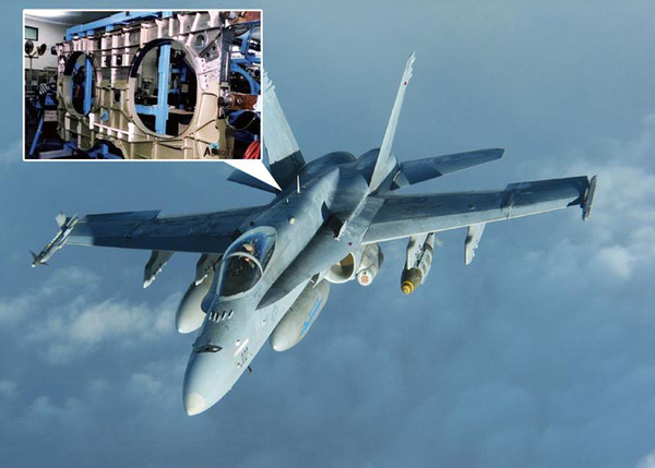 TQ mơ vật liệu siêu quý để sản xuất khung máy bay