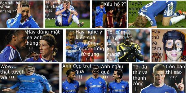 Troll chiếc mặt nạ của Torres