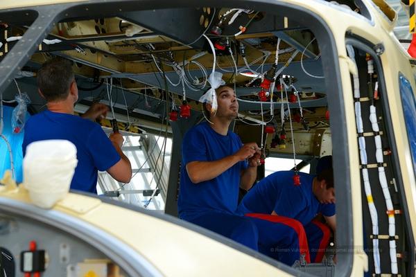 Tham quan nhà máy sản xuất trực thăng của Nga