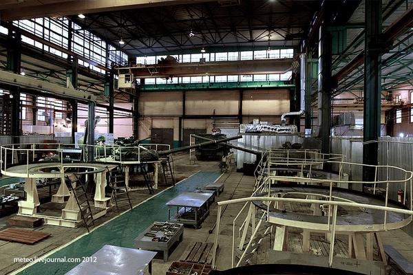 Có 12 xương trong nhà máy sửa chữa xe bọc thép số 61. Nhiệm vụ chính của các xưởng này là bảo dưỡng xe tăng và xe bọc thép.