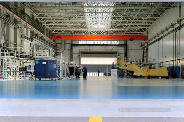 Xưởng sản xuất HeliVert rất sạch sẽ và gọn gàng.