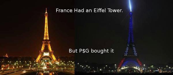 Tháp Eiffel mừng PSG vô địch