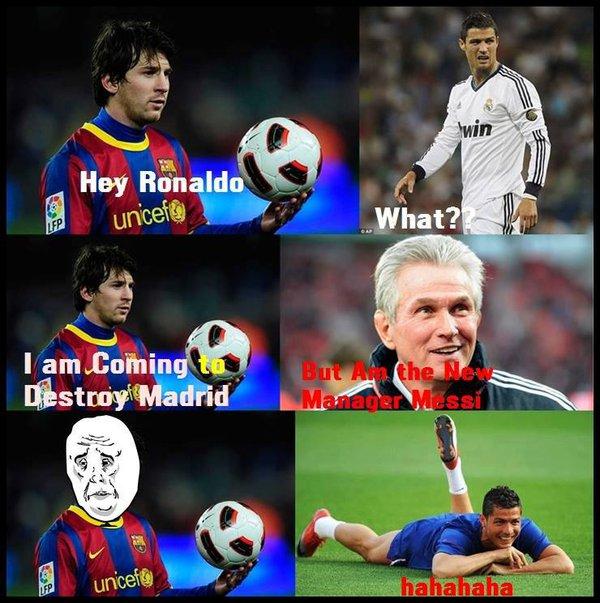 Nói gì thế Messi?