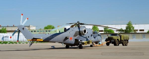 Trực thăng vận tải hạng nặng Mi-35M.