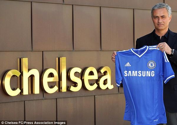 Mourinho giờ đã chuyển sự tập trung cho Chelsea