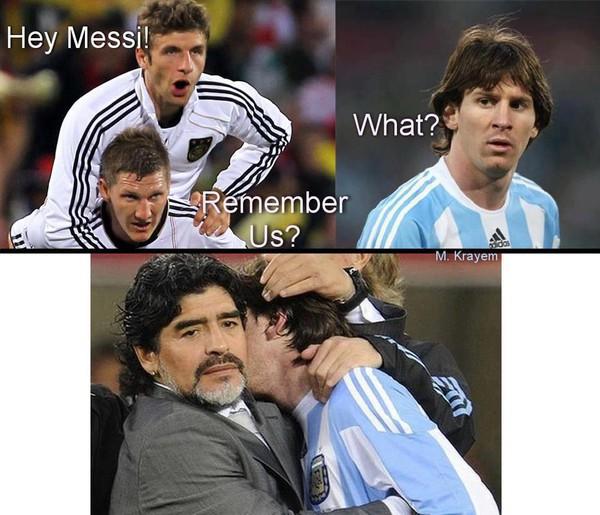 Leo Messi và nỗi ám ảnh người Đức