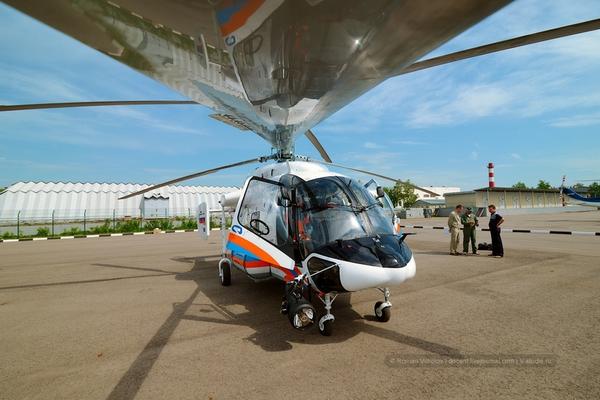 Máy bay trực thăng cứu hộ Ka-226T được sản xuất tại nhà máy trực thăng Moscow.