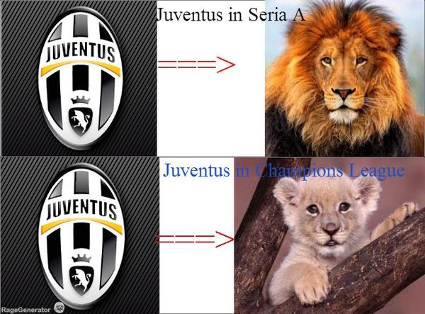 Vẫn là cùng một Juventus đấy nhé!