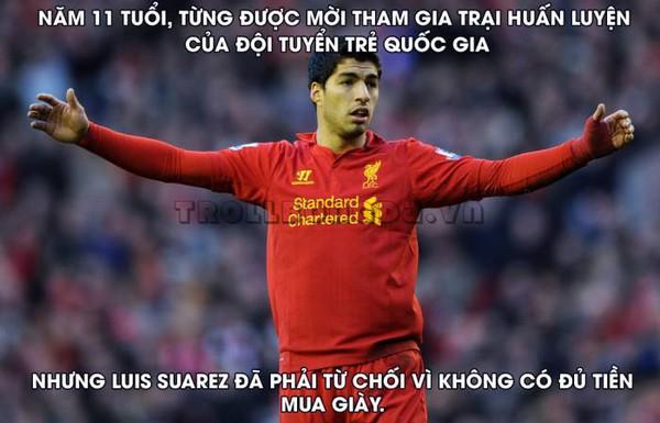 Một góc cạnh khác của Suarez